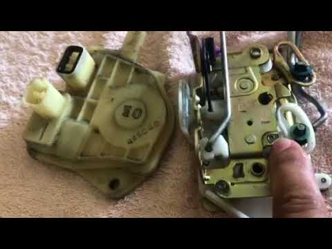 How To Fix Driver Door Lock Latch On Honda Civic Si 2002 To 2005 Part 2 Youtube
