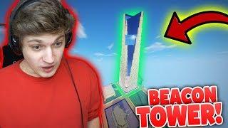 *BEACON TOWER* in Minecraft GEFUNDEN! - Minecraft Spieler Trolling Deutsch!