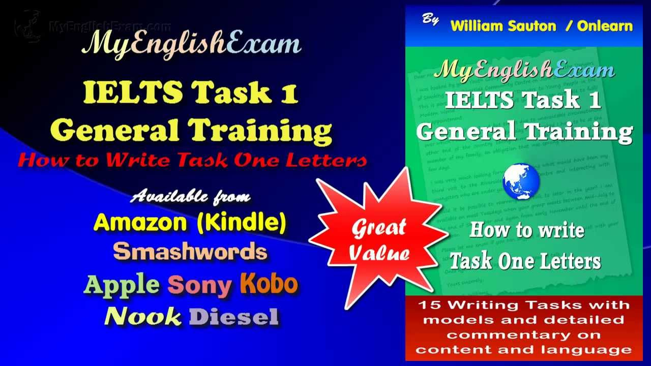 how to start general task 1 in ielts