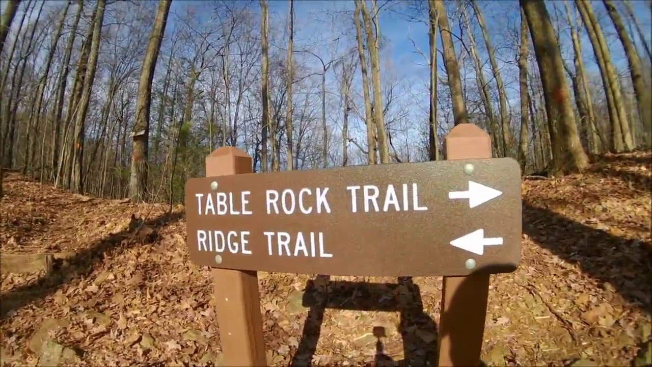 Table Rock Trail In State Park South Carolina