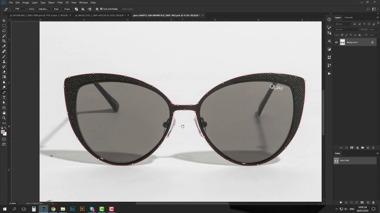 Clipping Path Tutorial 2 - Changing the Background of the Image