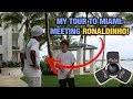 Meeting the legendary Ronaldinho (Brazilian soccer player)