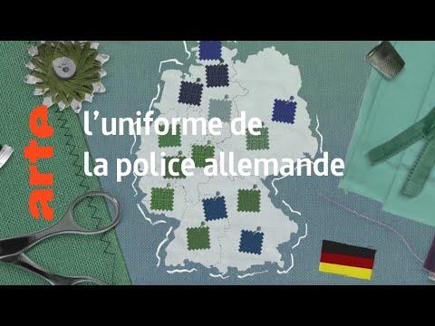 le look : l'uniforme de la police allemande - Karambolage - ARTE