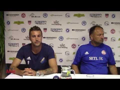 Hodnotenie zápasu Bardejov - Poprad (3. kolo, 2. futbalová liga)