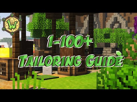 1 – 100+ Tailoring | Crafting Ingredient Guide | Wynncraft | Profession Guide