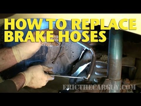 How To Replace Brake Hoses -EricTheCarGuy - YouTube