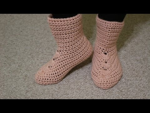 Botas Crochet - YouTube