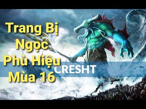 CRESHT Mùa 16 : Trang Bị - Ngọc - Phù Hiệu Mới Nhất 2020 - Thùy Trang Gaming