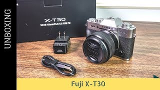 Fuji X-T30 Unboxing and Vlogging Test thumbnail