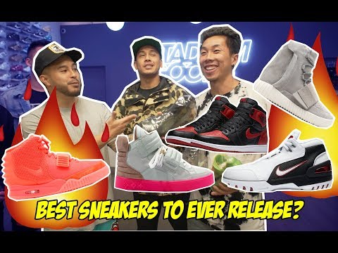 WHAT ARE THE BEST SNEAKERS TO EVER RELEASE?! FEAT. FUNG BROS & HOOP AND LIFE!