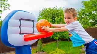 Артур собирается победить Дети устроили весёлые соревнования