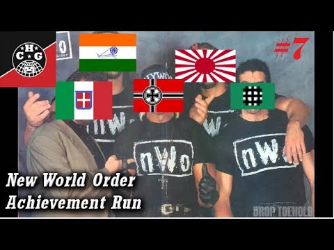HOI4: New World Order Run #7 - From Cairo to Capetown!