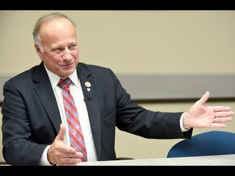 Steve King at Sioux City Journal Editorial Board