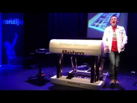 Dirkjan Ranzijn,Party Time, Paloma Blanca,Amarillo,Babylon,Nottingham Organ Society