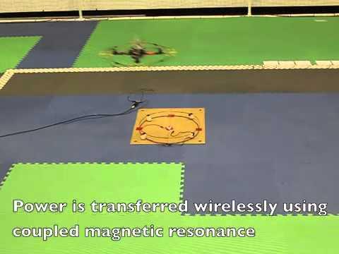 Wireless Power Transfer to a Quadcopter UAV   NextBigFuture com