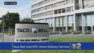 Grubhub Adds Taco Bell, KFC To Delivery Menu