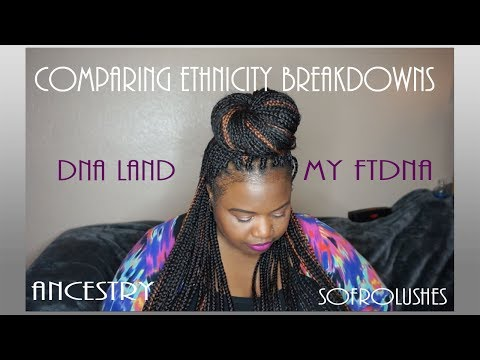 Ancestry vs DNA Land, My Family Tree DNA (British Jamaican) #2