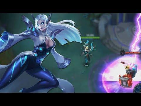 Eudora Remake & NEW Epic SKIN! Mobile Legends Some Gameplay