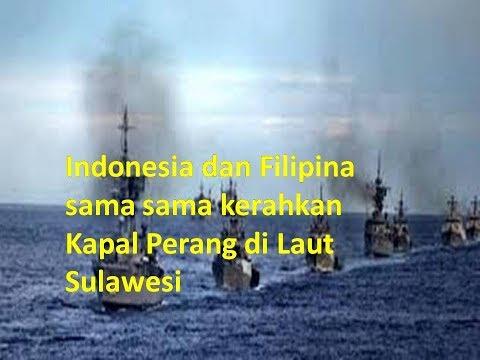 Indonesia dan Filipina Sama-Sama Kerahkan Kapal Perang di Laut Sulawesi