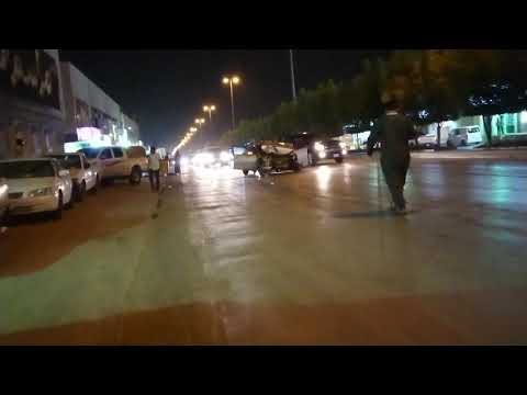 Accident in Riyadh