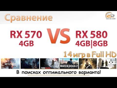 Radeon RX 570 4GB vs Radeon RX 580 4GB и 8GB: невероятное сравнение новых видеокарт AMD