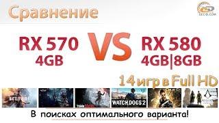 """Radeon RX 570 4GB vs Radeon RX 580 4GB и 8GB: невероятное сравнение """"новых"""" видеокарт AMD"""