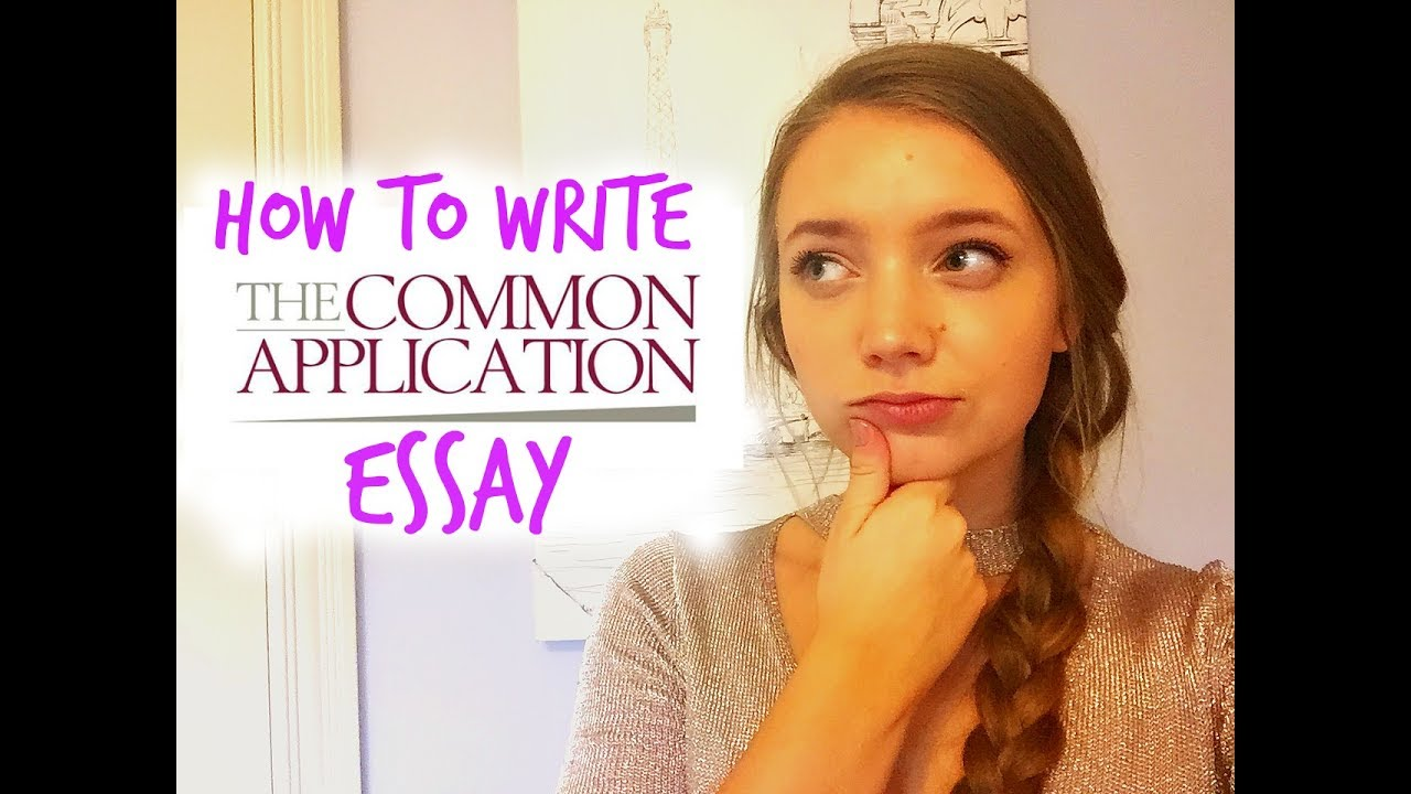 How to write an admission essay youtube