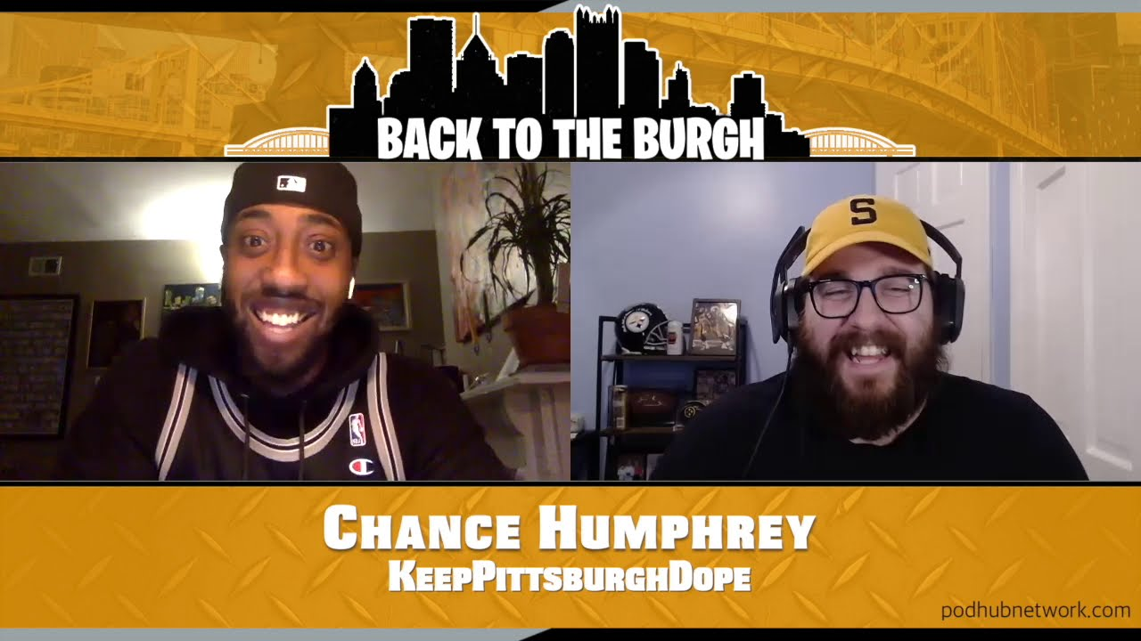 Back To The Burgh - Chance Humphrey KeepPittsburghDope