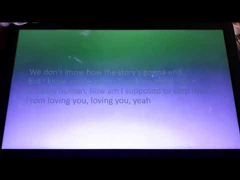Calum Scott-stop Myself(only Human) Lyrics