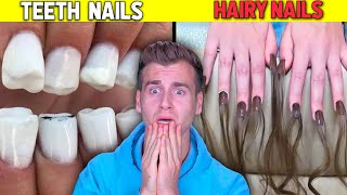 People Who Got The CRAZIEST NAILS In The World..