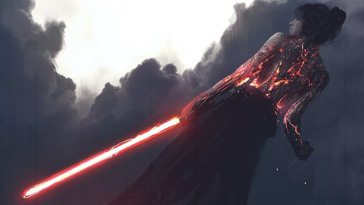 epic beauty tragic action wars star sith lightsaber artwork starwars saber artist painting awesome ability album lady darth