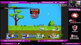 SW 37 Wii U - TLOC | Denti & Karna vs iiGGY & AeroLink - Grand Finals
