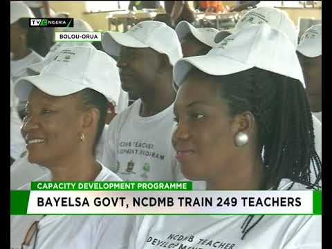 Bayelsa government, NCDMB train 2489 teachers in capacity development