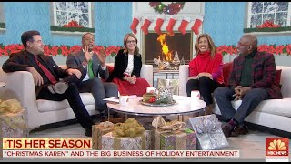 """Christmas Karen"" Featured on NBC TODAY"