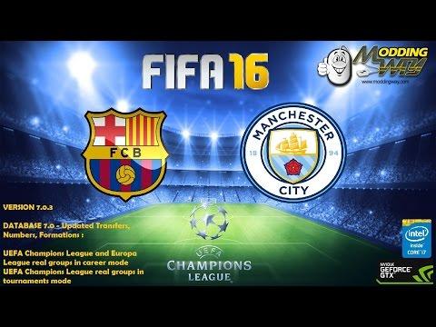 FIFA 16 ModdingWay Mod 7.0.3 // Season 16/17