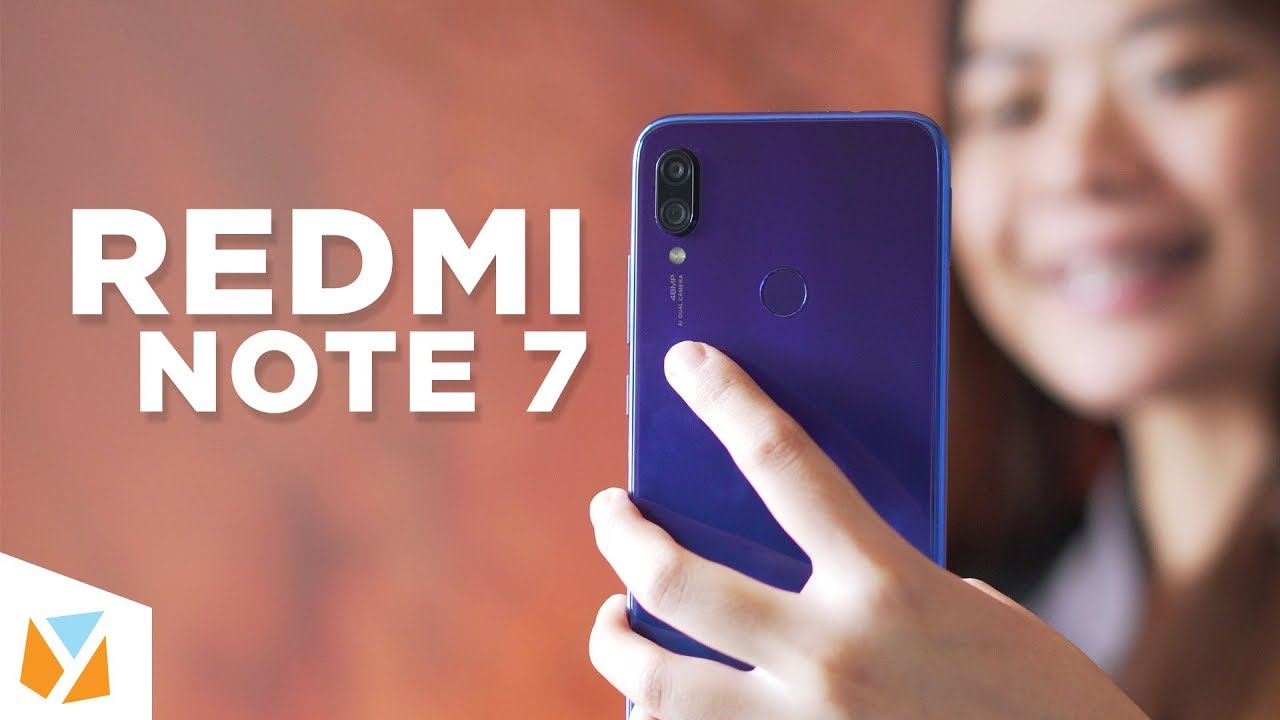 Xiaomi Redmi Note 7 officially launches in the Philippines