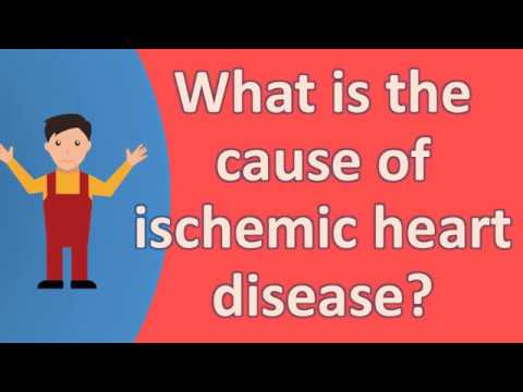 What Is The Cause Of Ischemic Heart Disease ?  | Health FAQS For Better Life