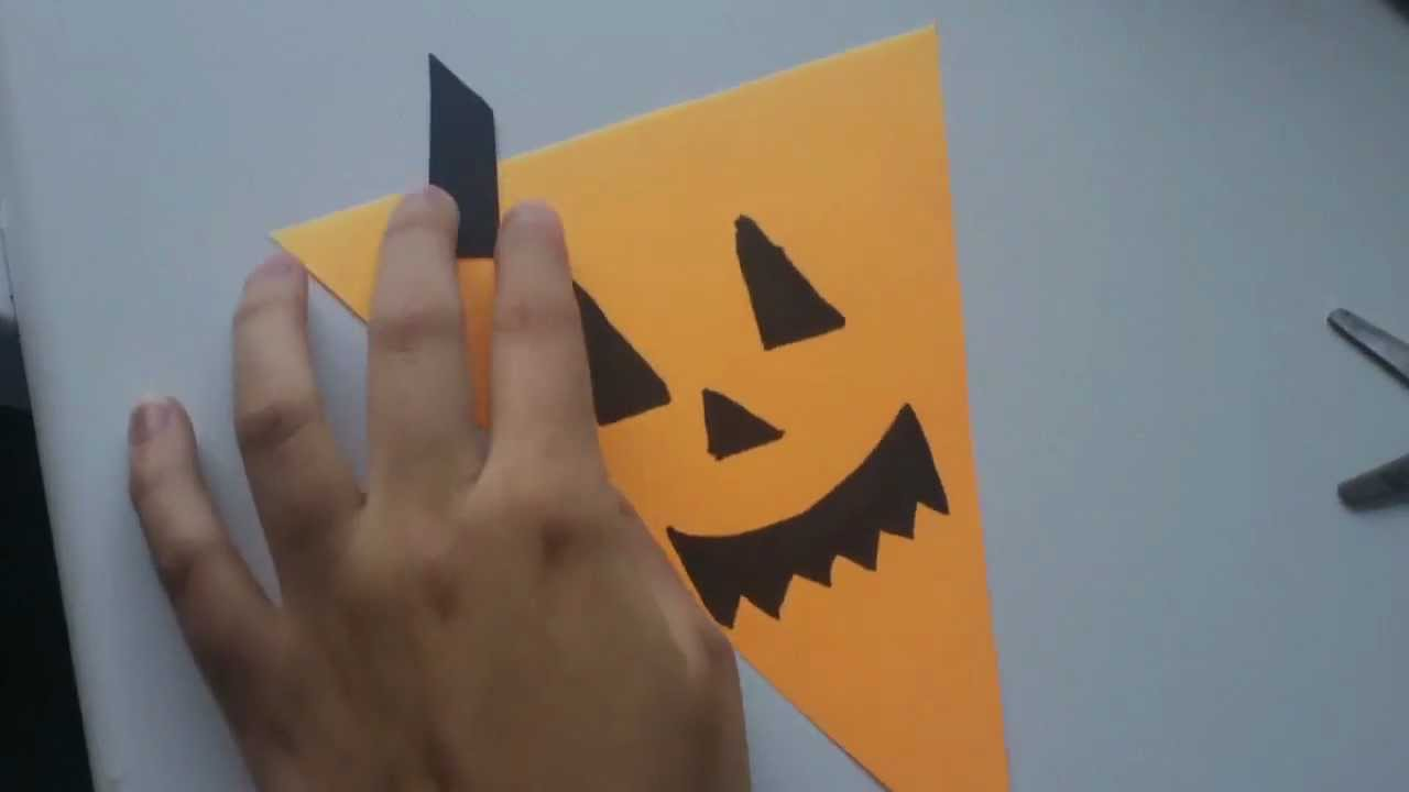 Cmo hacer banderines para Halloween facilisimocom YouTube