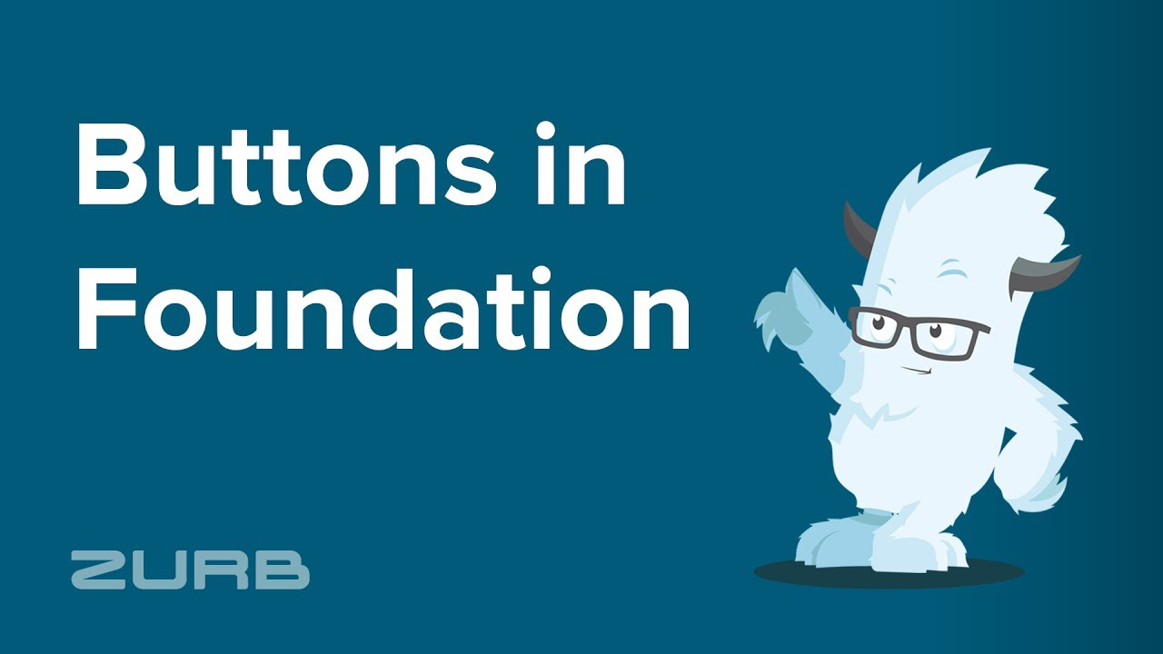 Button | Foundation for Sites 6 Docs