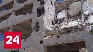 В Сирии боевики обстреляли жилые кварталы на юге Алеппо
