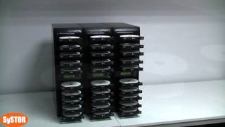 Systor Daisy Chain CD DVD Duplicator Copier Tower 1080p HD