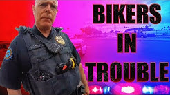 COOL & ANGRY COPS VS BIKERS 2020 - BIKERS IN TROUBLE!!