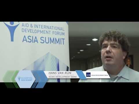 AIDF Asia Summit 2016 - Interview with Hans van Rijn, Asian Development Bank