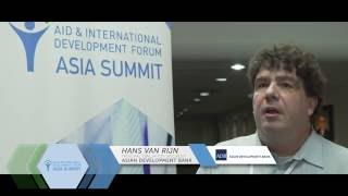 AIDF Asia Summit 2016 - Interview with Hans van Rijn, Asian Development Bank