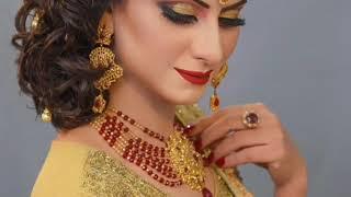 Asian Bridal Makeup | Traditional  and Trending Bridal Makeup | Dramatic Bold  Winged Eyes