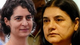 Maneka Gandhi Hits Back At Priyanka Gandhi