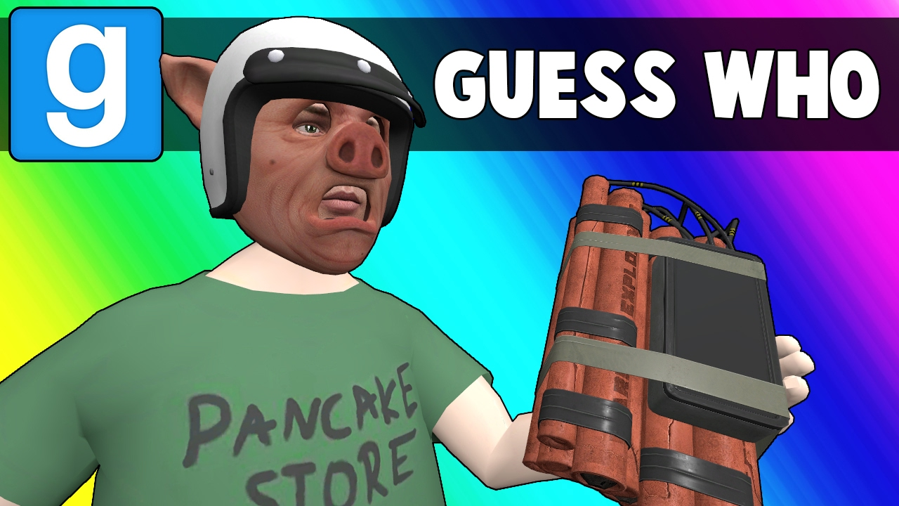 Gmod Guess Who Funny Moments - Cursed Casino Mirror (Garry's Mod)