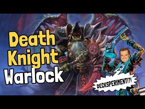 Death Knight Warlock Decksperiment - Hearthstone