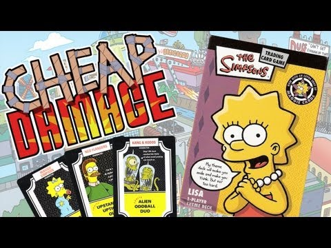 Cheap Damage: Simpsons Trading Card Game