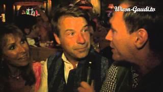 Patrick Lindner und Ireen Sheer im Interview mit Wiesn-Gaudi.TV auf dem Oktoberfest